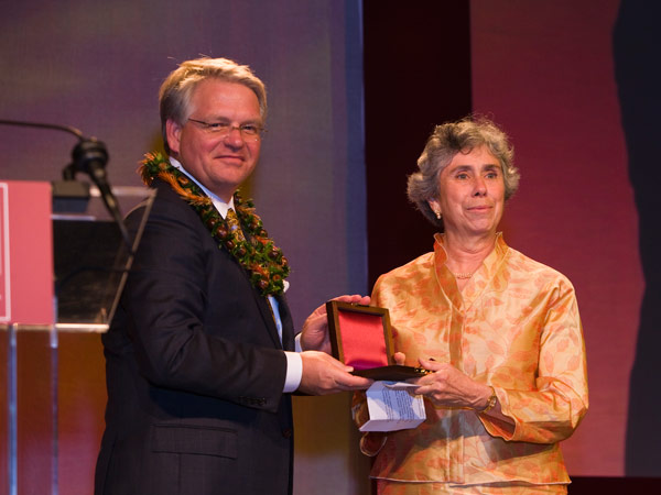 Sally Receives the LaGasse Medal