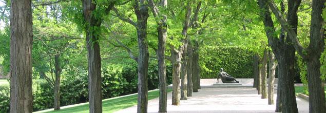 Marvels Of Modernism Miller Garden The Cultural