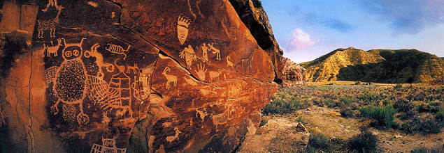 Petroglyphs Utah Nine Mile Canyon Nine Mile Canyon