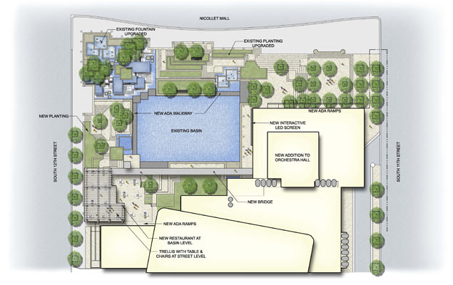 Peavey Plaza Proposed Plan