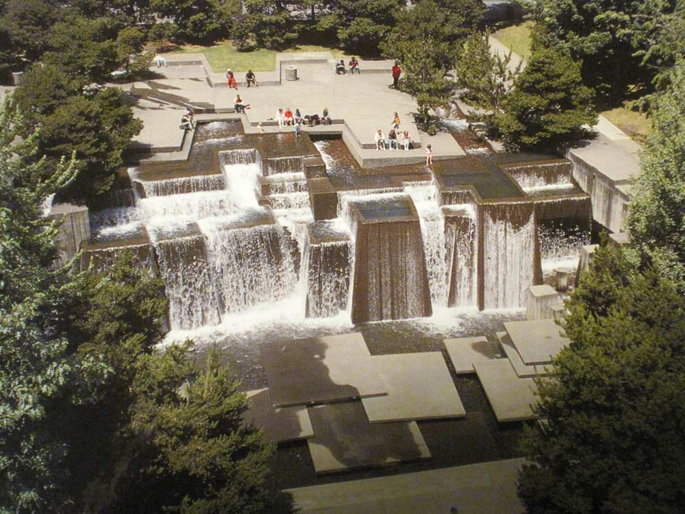 The Landscape Architecture Of Lawrence Halprin The