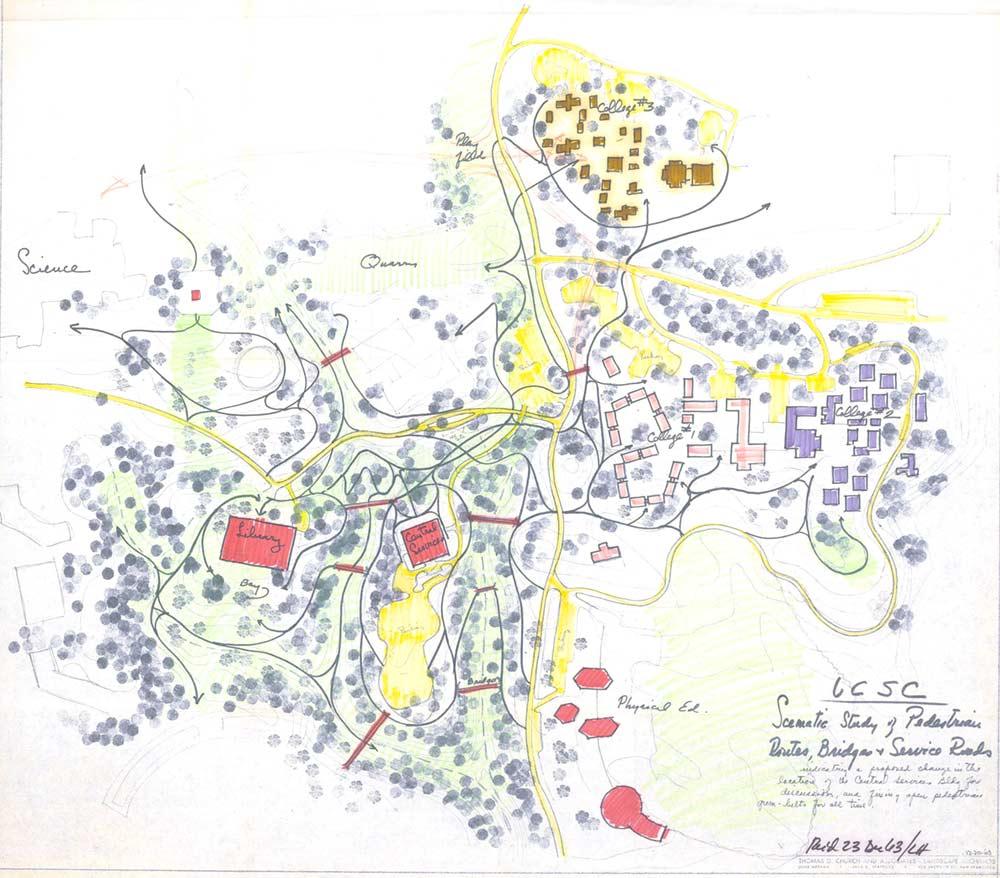 santa cruz university map The Landscape Architecture Of Lawrence Halprin The Cultural santa cruz university map