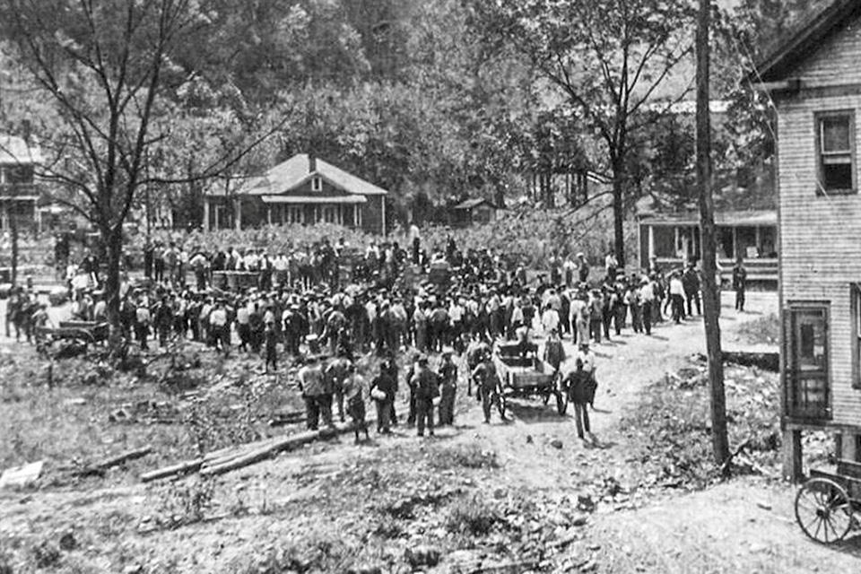 Battle Of Blair Mountain 1921