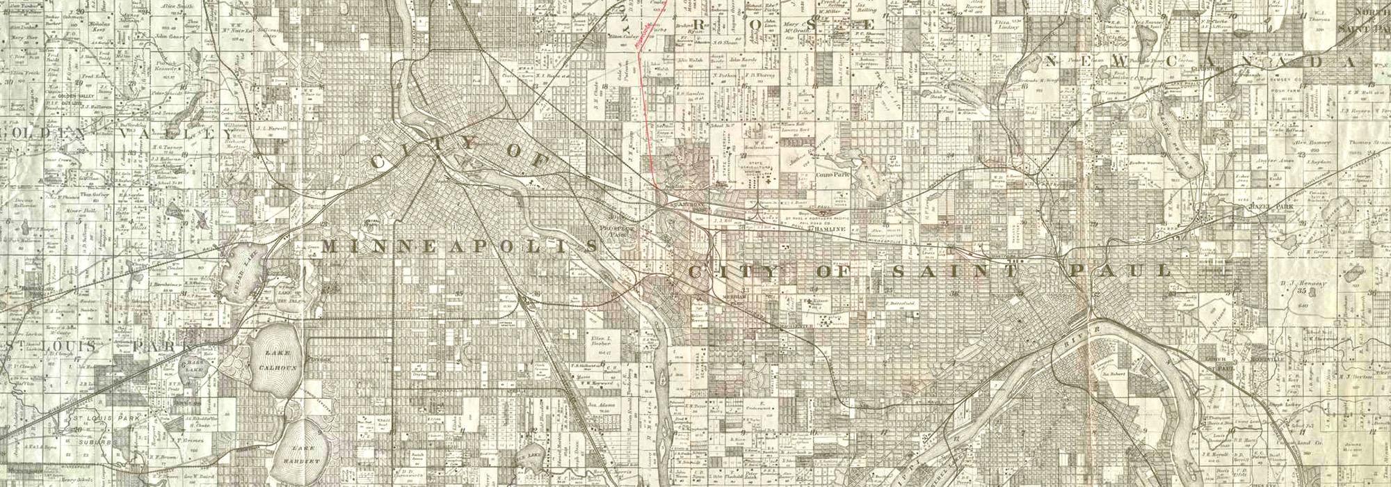 MN_StPaul-Minneapolis_HistoricMap_byThomasLowry-courtesyUniversityOfMinnesotaLibraries_1888_001_Hero.jpg