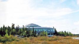 CANADA_NorthwestTerritories_Yellowknife_NorthwestTerritoriesLegislativeAssemblyBuilding_byCharlesABirnbaum_1994_007_Sig.jpg