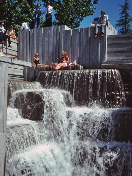 Freeway Park The Cultural Landscape Foundation