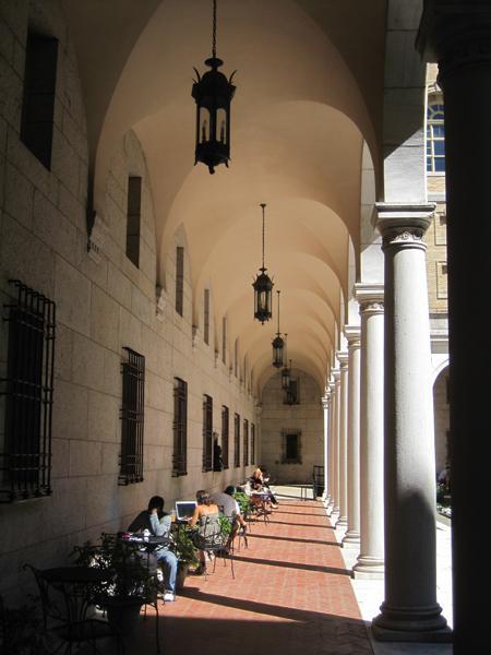 Boston Public Library Courtyard_01