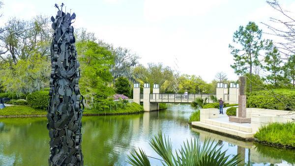 The sydney and walda besthoff sculpture garden at the new - Sydney and walda besthoff sculpture garden ...