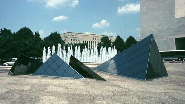 East Building Plaza, National Gallery of Art, 2003
