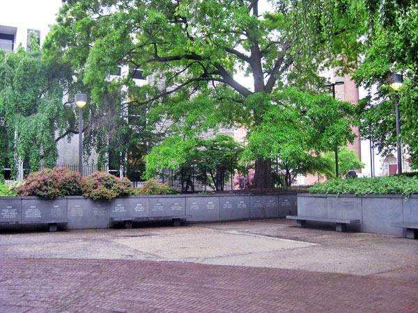 founders garden temple university the cultural