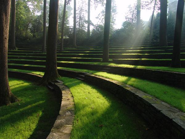 Scott Outdoor Amphitheater The Cultural Landscape Foundation