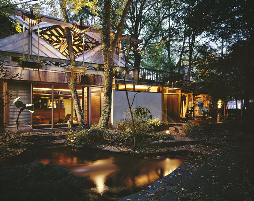 The James Rose Residence-Study Center, 1996. Photograph © Frederick Charles-1.jpg