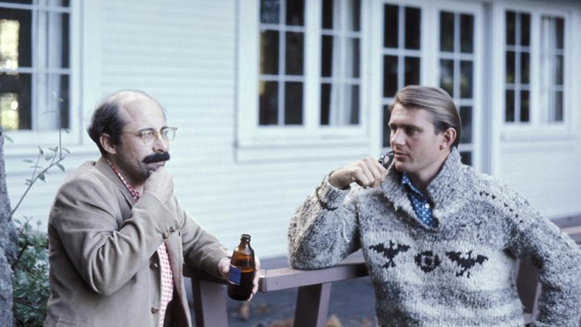 Frank James and Grant Jones, Bainbridge Island,  1969 from Laurie Olin-sig.jpg