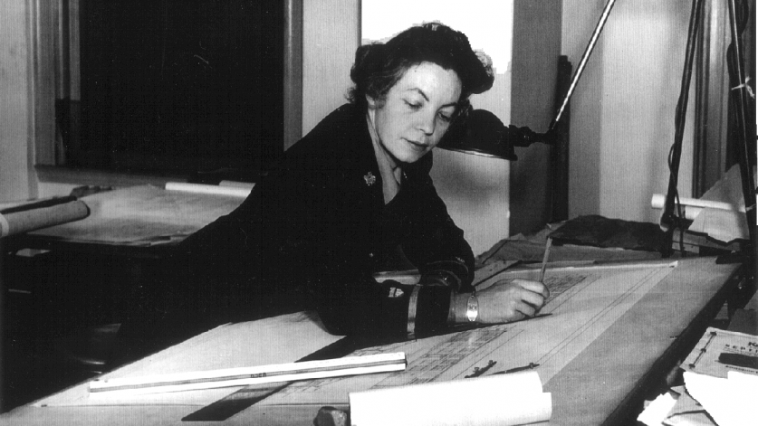Julia Jane Silverstein during her World War II tour of duty with the U.S. Coast Guard. - JSR Papers-sig.png