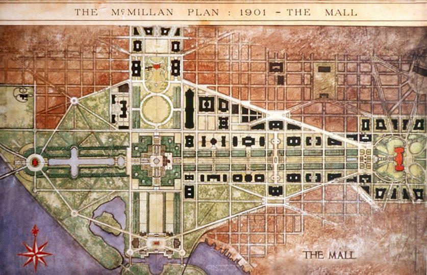 National Capital Planning Commission, Washington, DC. - The McMillan Plan of 1901.jpg