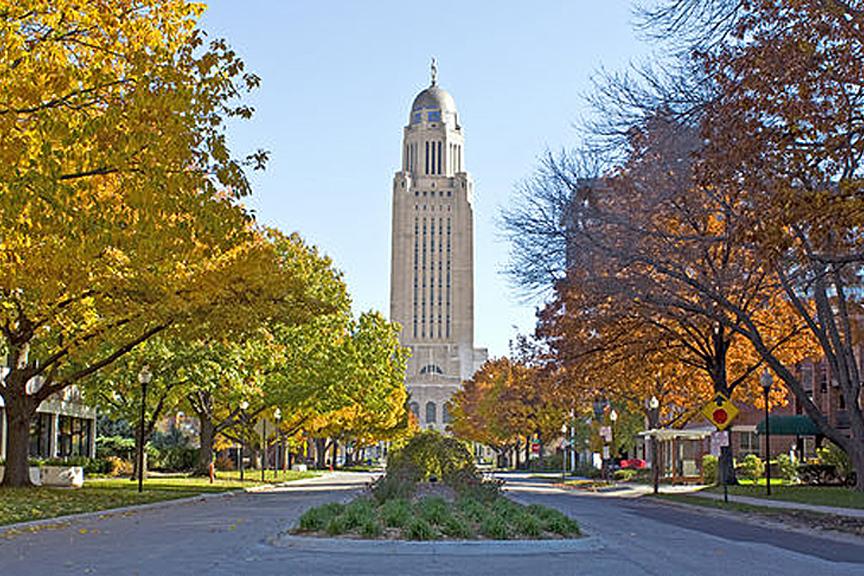 Nebraska State Capitol The Cultural Landscape Foundation