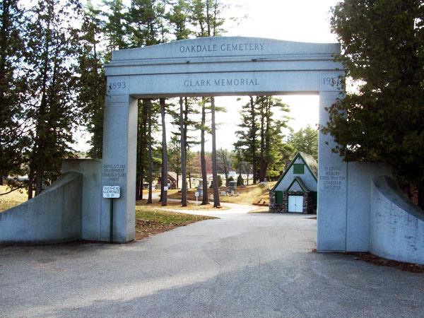 Oakdale Cemetery - ME   The Cultural Landscape Foundation