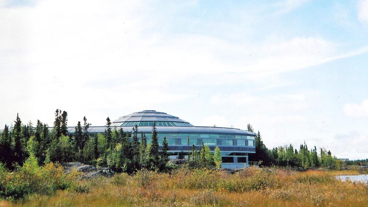 CANADA_NorthwestTerritories_Yellowknife_NorthwestTerritoriesLegislativeAssemblyBuilding_byCharlesABirnbaum_1994_007_sig_001.jpg