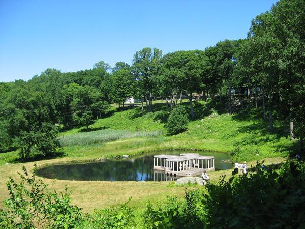 Philip Johnson Glass House The Cultural Landscape Foundation