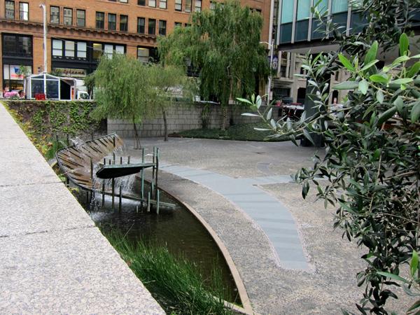 One Bush Plaza The Cultural Landscape Foundation