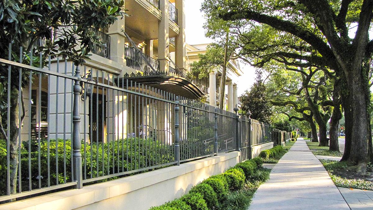 New Orleans Garden District The Cultural Landscape Foundation