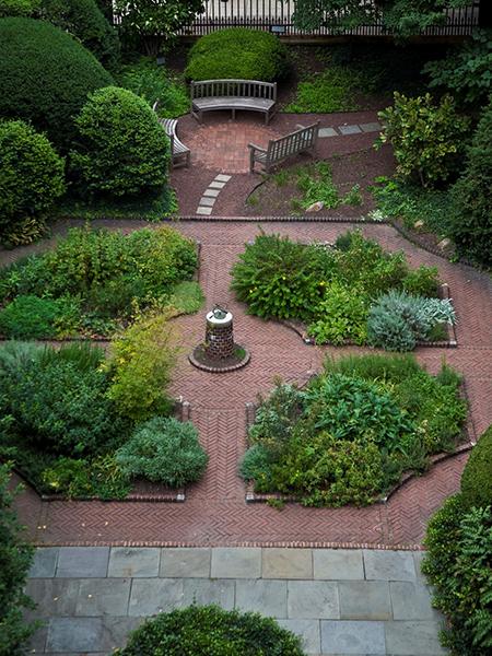 The Benjamin Rush Medicinal Plant Garden 1 Courtesy