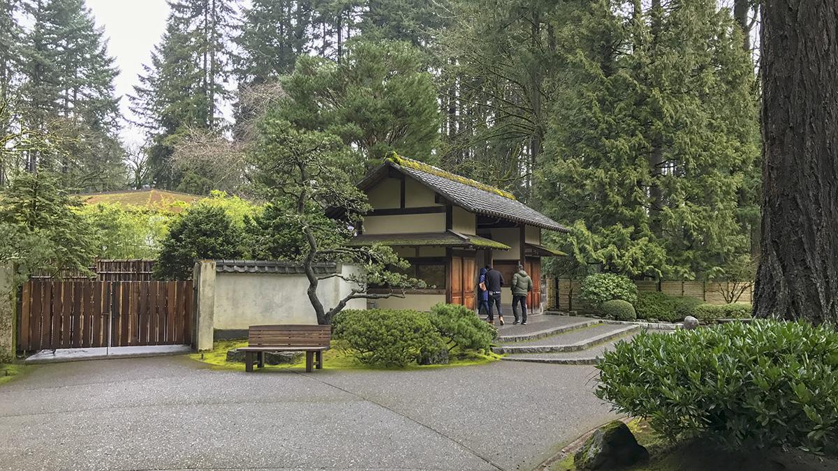 Portland Japanese Garden The Cultural Landscape Foundation