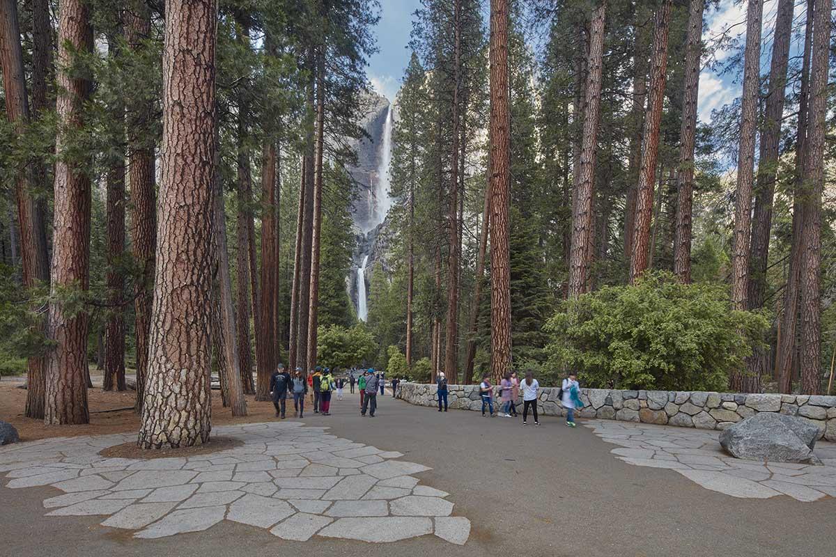 Yosemite Falls Corridor, Yosemite, CA, 2016. Photograph (© Phillip Bond, courtesy The Cultural Landscape Foundation-LO RES.jpg